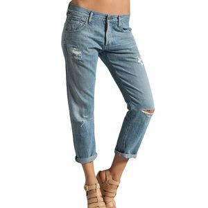 CITIZENS OF HUMANITY Dylan Relaxed Distressed Jean